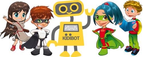 KIDIBOT ajuta copiii sa VREA sa citeasca mai mult