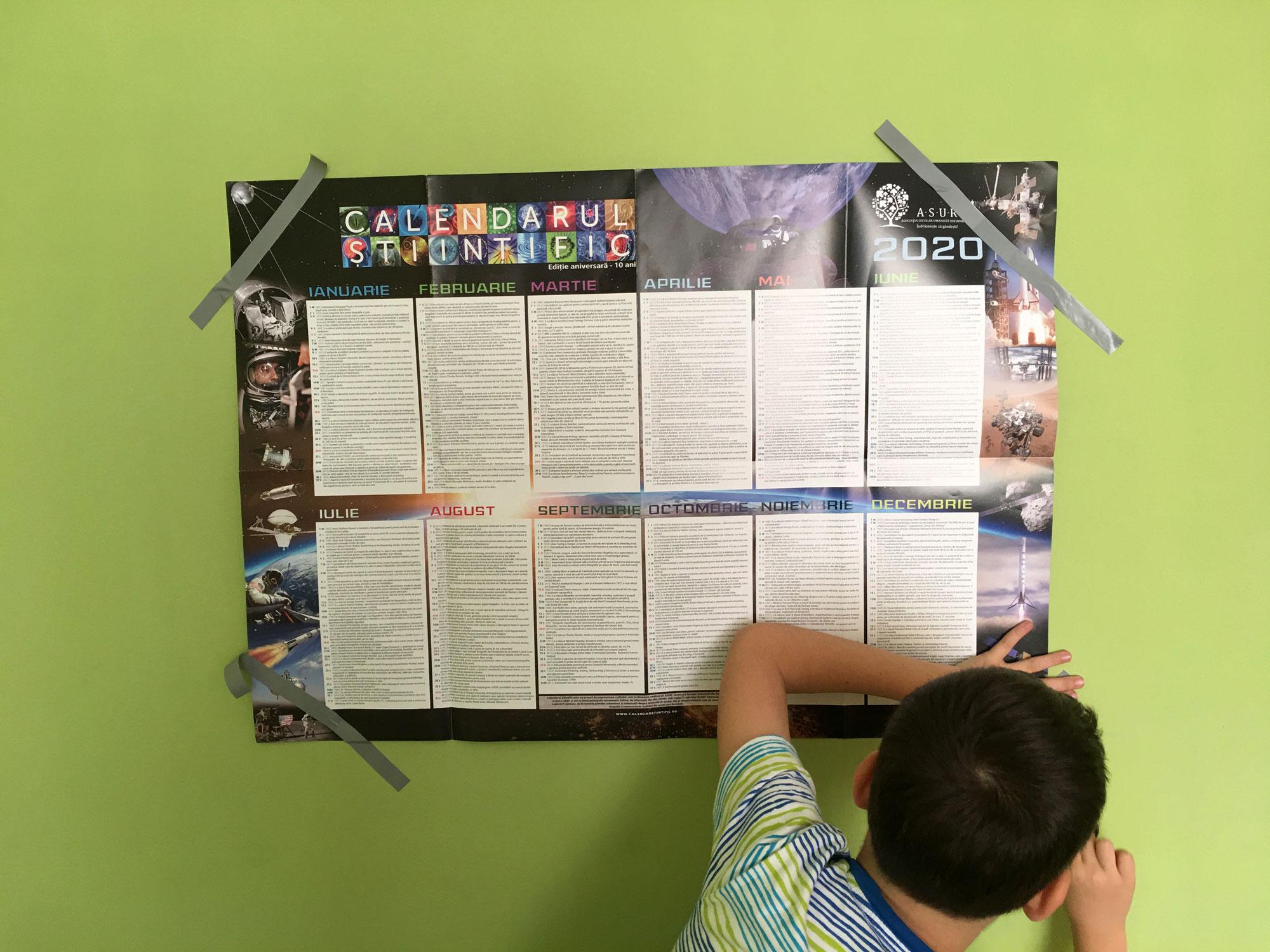 Calendar 2020 – Varianta stiintifica